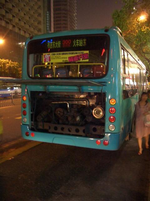 中国おもしろ珍道中,中国生活,バス故障