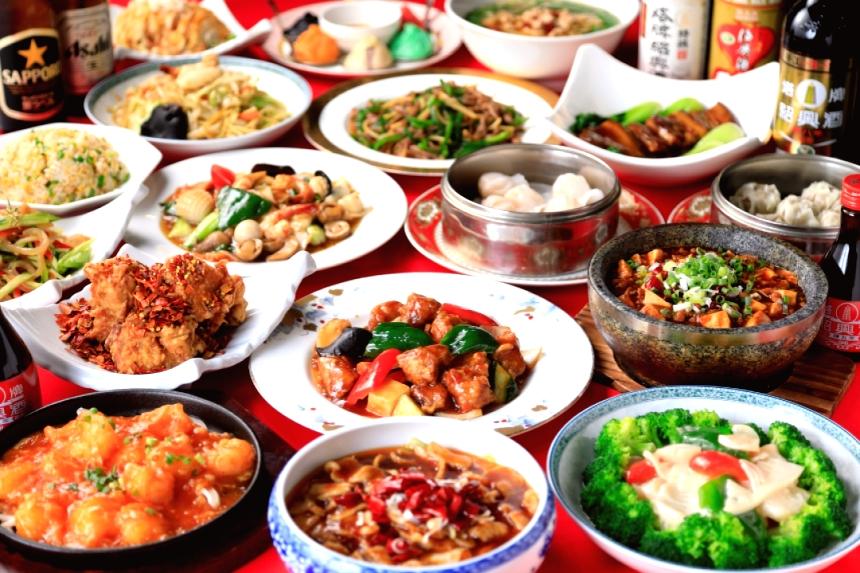 中国おもしろ珍道中,食