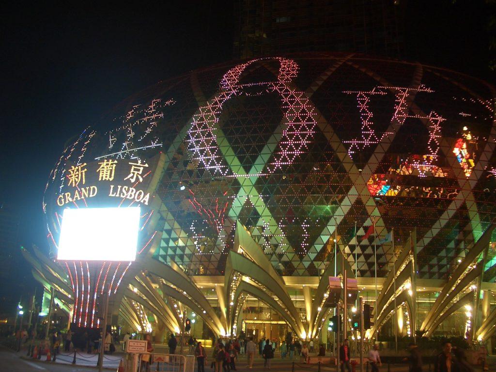 中国おもしろ珍道中,中国最新情報,マカオ旅行,Sands