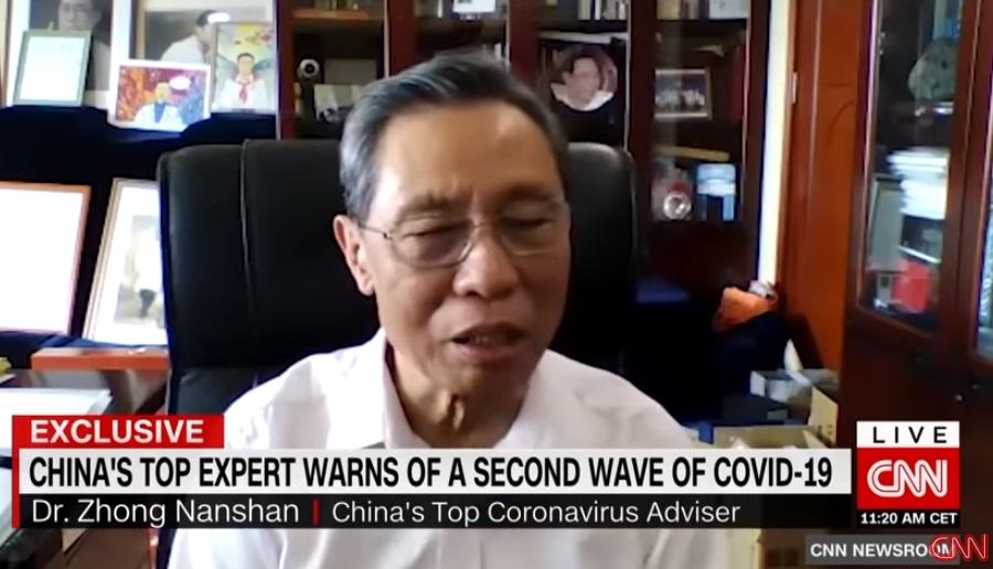 中国おもしろ珍道中,中国最新情報,中国時事ネタ,コロナウイルス,感染第2波,鐘中山